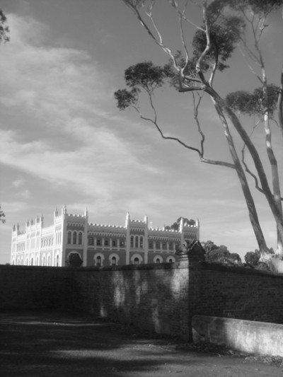 travel tips Australia - Black and white picture of New Norcia in West Australia