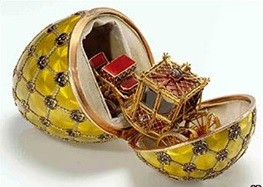 Faberge Egg Coronation Trimmed