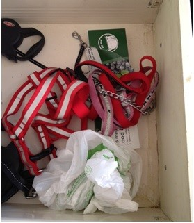 The reins drawer