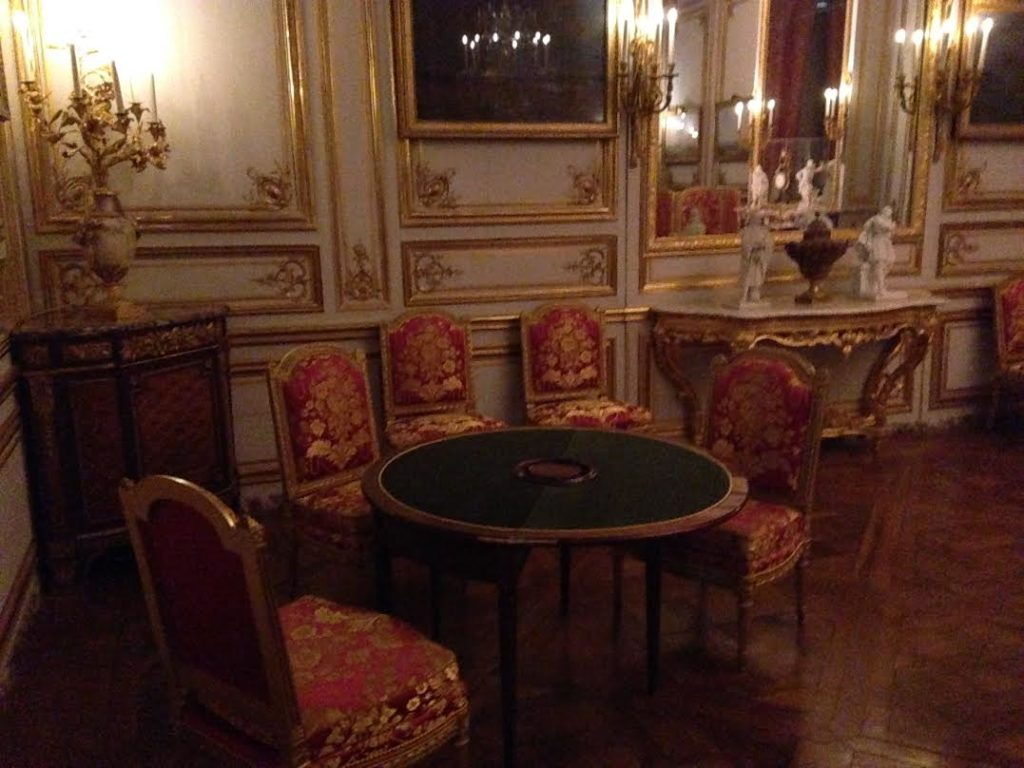 Marie-Antoinette's Private Games Room