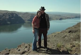 At the banks of the Columbia Riber, Washington, USA