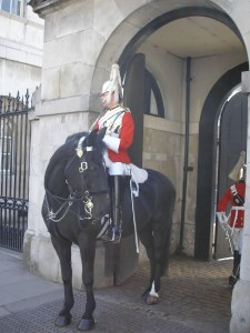 Ready to change the guard at Whitehall.