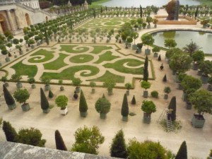 The parterre at Versailles