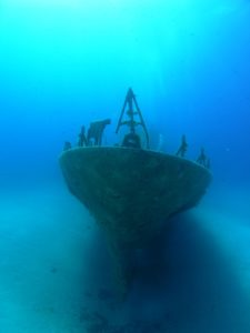 The P31 - a sunken patrol boat