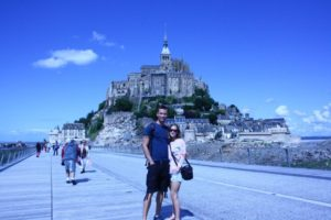 We loved Mont St Michel