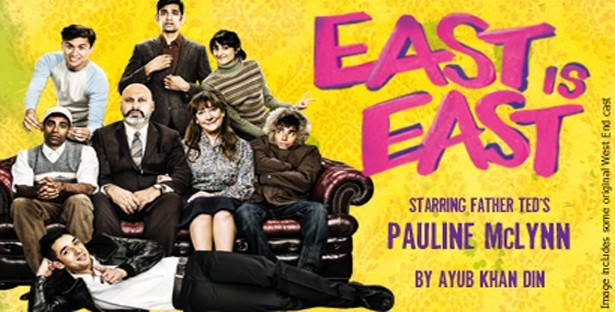 Poster for 2015 tour of East is East
