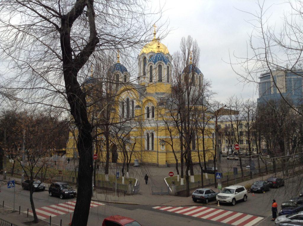 St Vladimir's Cathedral in Kiev