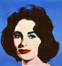 Elizabeth Taylor Silk Screen, Warhol