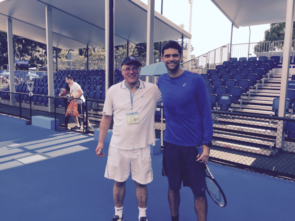 David with Mark Philippoussis