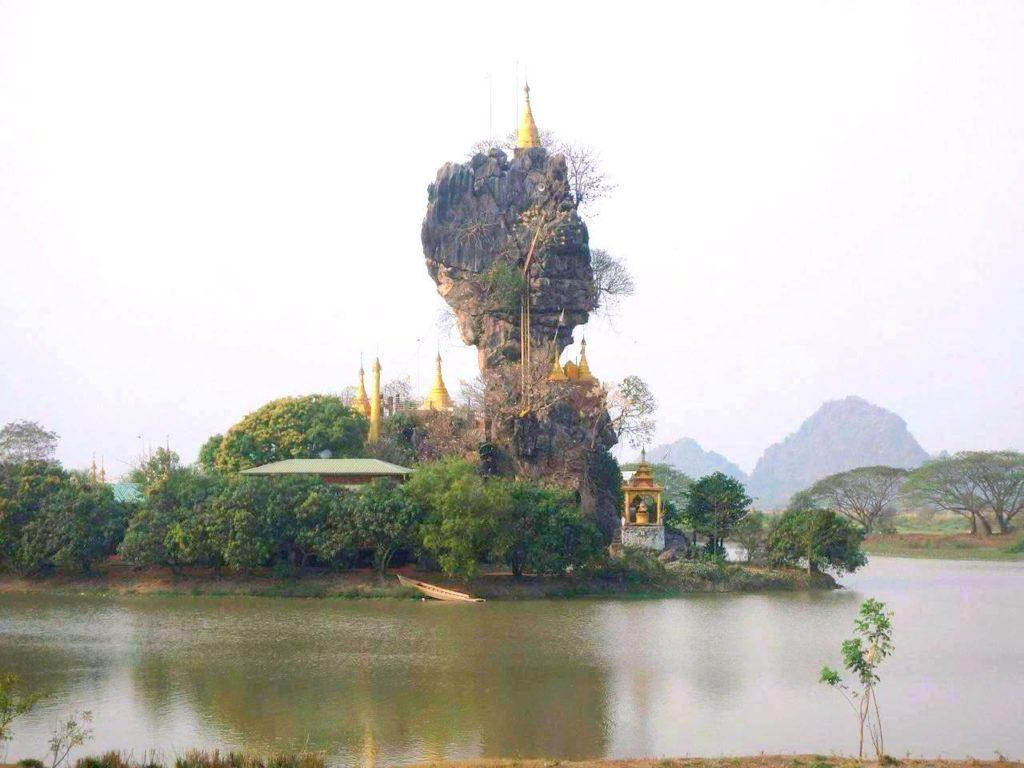 Hpn-an Monastery in Myanmar