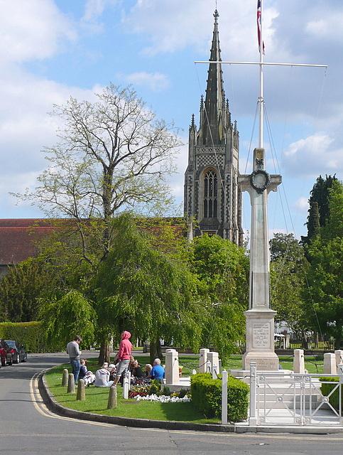 church spire of All Saints Church Marlow