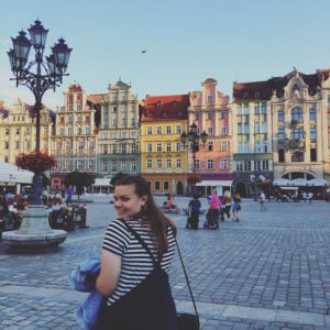 Wroclaw main square with colourful buildings - Affordable travel in Poland