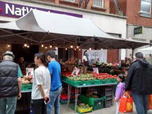 Fruit market in Maidenhead