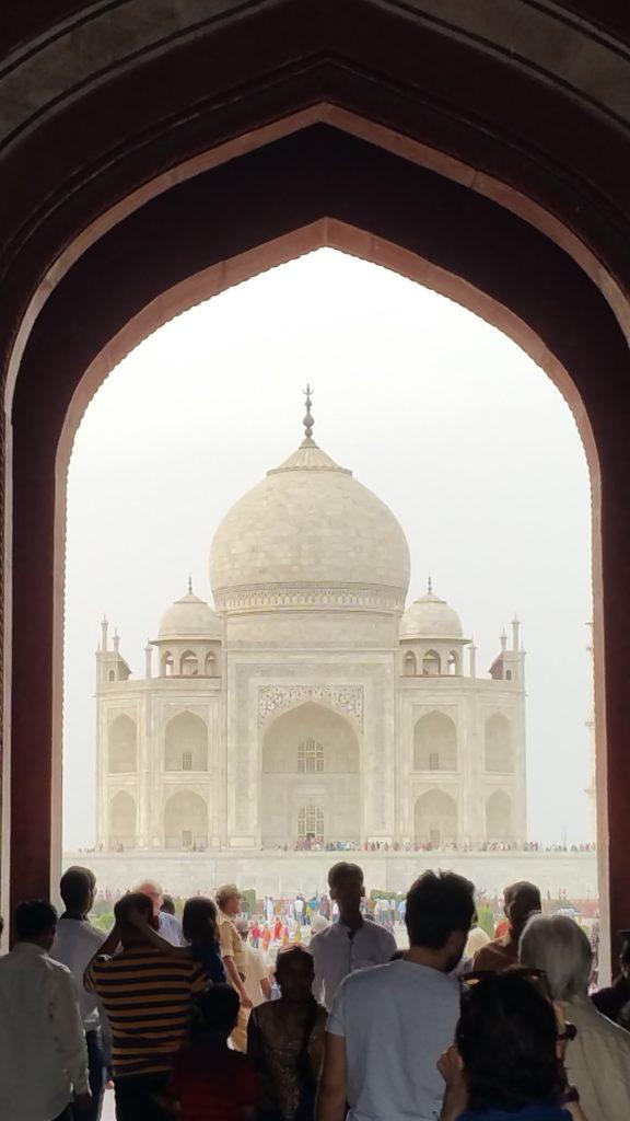 enjoy housesitting - picture of the Taj Mahal
