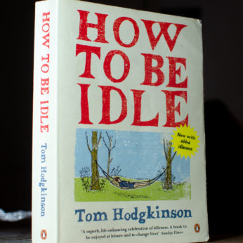 Housesit match book of the week how to be idle
