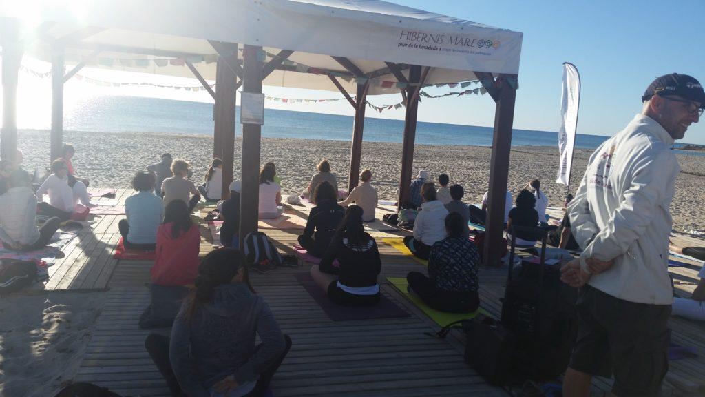 TeresKrelle Yoga on the Beach Orihuela SPAIN