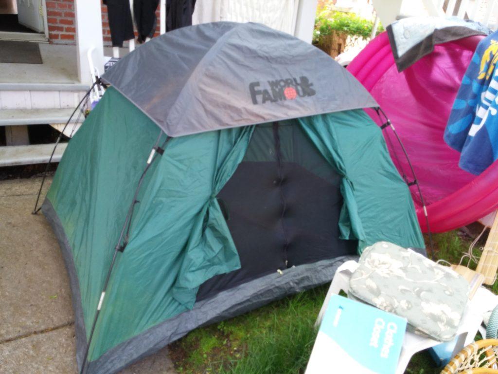 Long travelers debate taking their tents