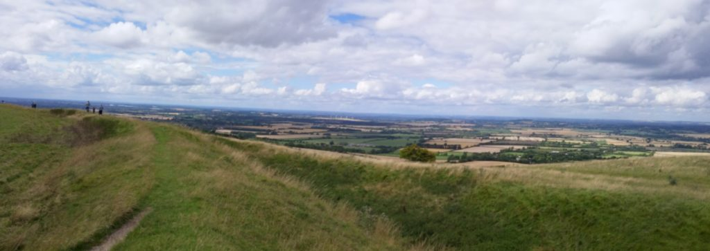An Oxfordshire housesit gave us these views