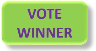 Green Vote winner button