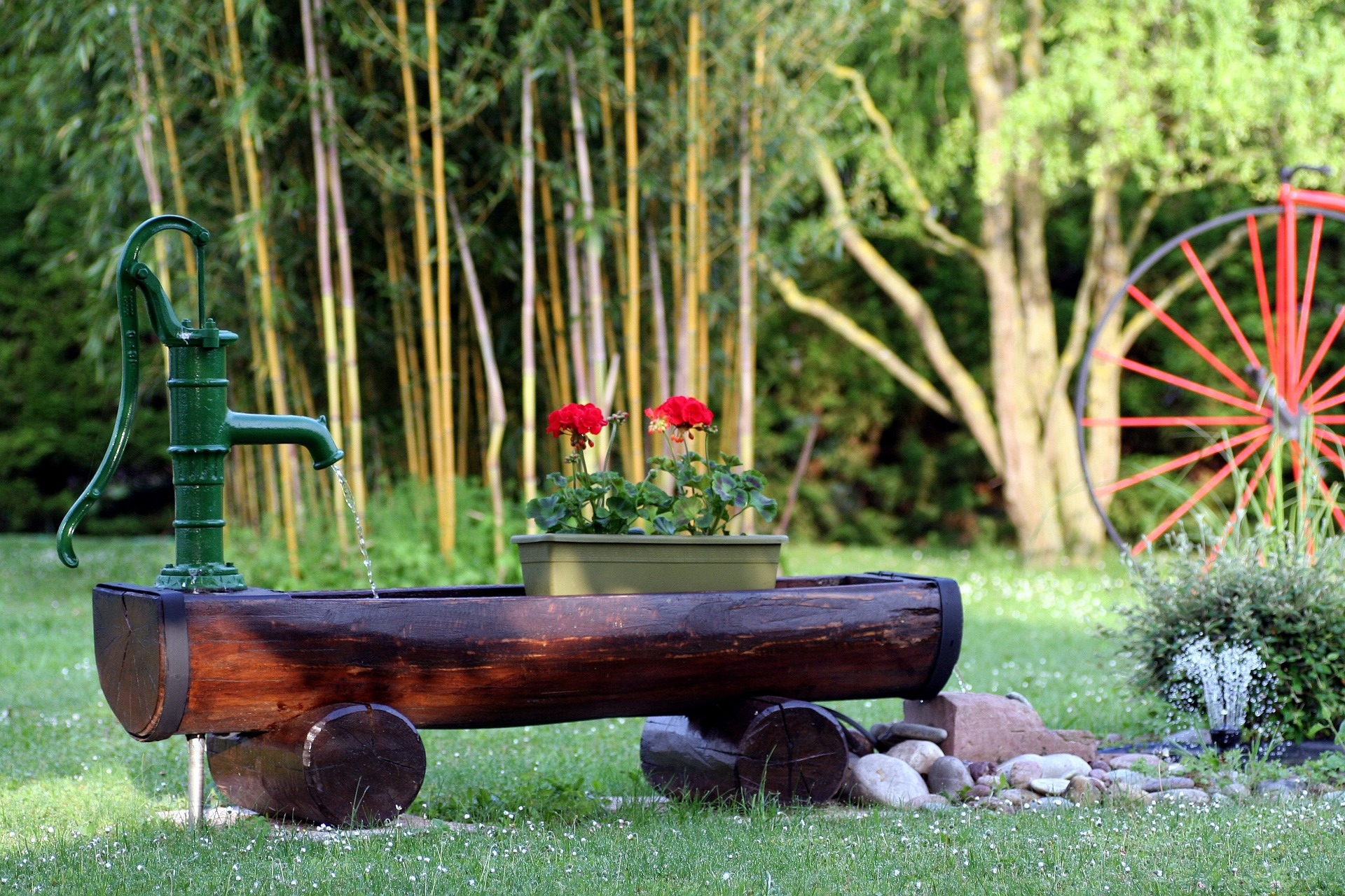 garden care and irrigation