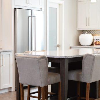 well-stocked kitchen