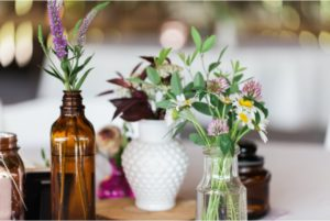 decorate a home with flowers